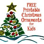Printable Christmas Ornaments For Kids | Free Printables | Pinterest   Free Printable Christmas Decorations