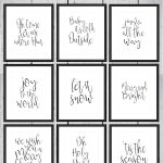 Printable Christmas Party Signs – Festival Collections   Free Printable Christmas Party Signs