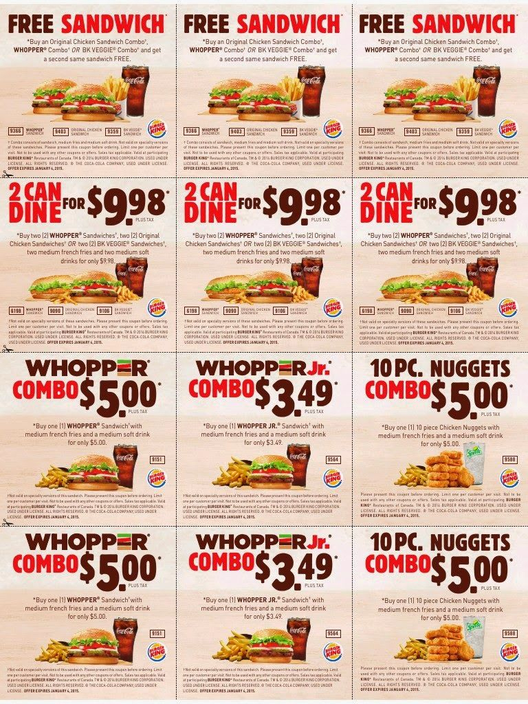 Printable Coupons: Burger King Coupons | Famo | Free Printable - Burger King Free Coupons Printable