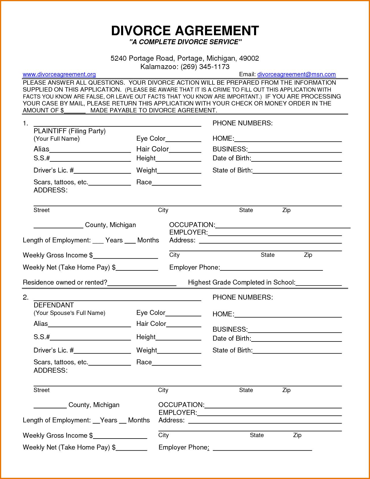 Printable Divorce Papers Georgia   6 Ways To Ruin A Perfectly Good - Free Printable Divorce Papers For Arkansas