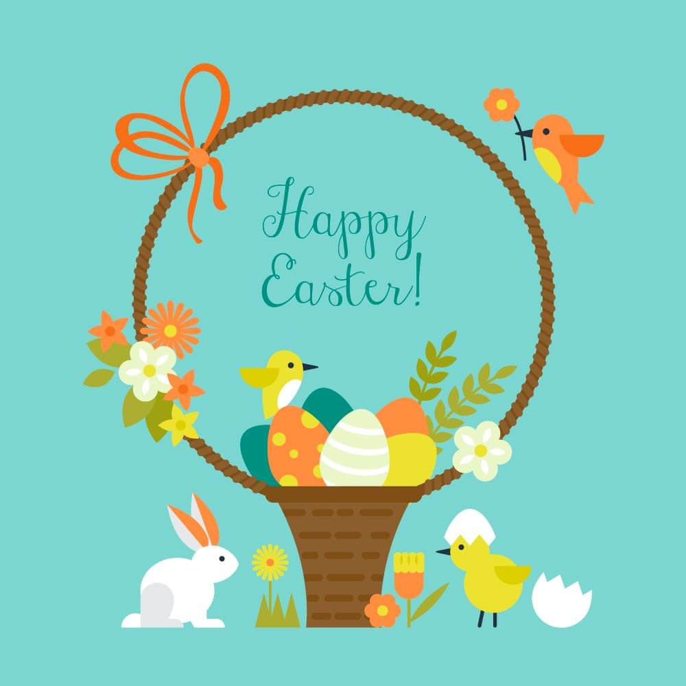 Printable Easter Card And Gift Tag Templates | Reader's Digest - Printable Easter Greeting Cards Free