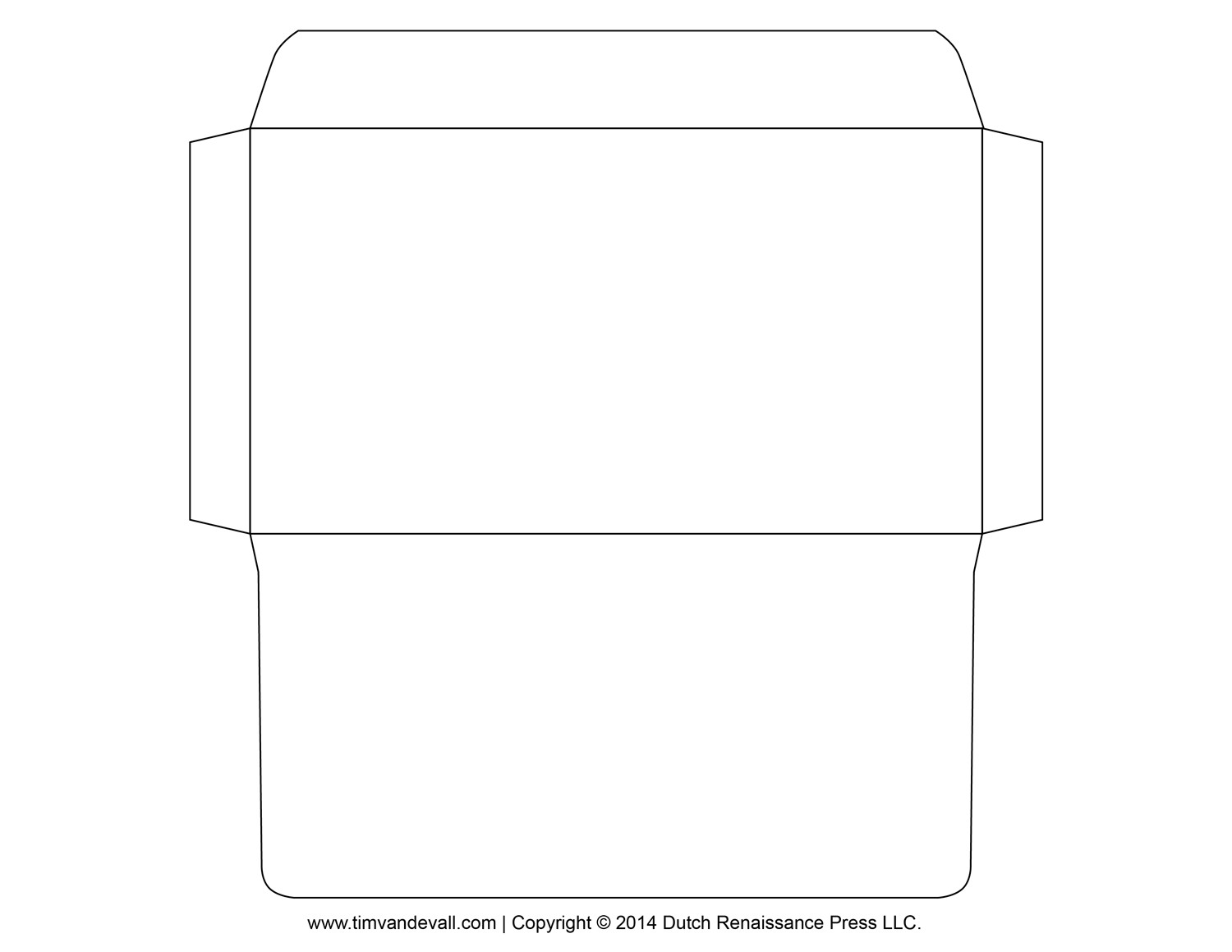 Printable Envelope Template – Professional Resume Template - Free Printable Envelope Size 10 Template
