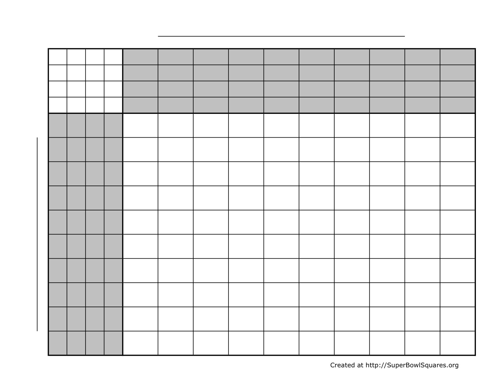 Printable Football Squares Sheets - Free Printable Football Play Sheets
