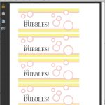 Printable Free Bubble Labels For Party Favors   Merriment Design   Free Printable Gift Tags For Bubbles