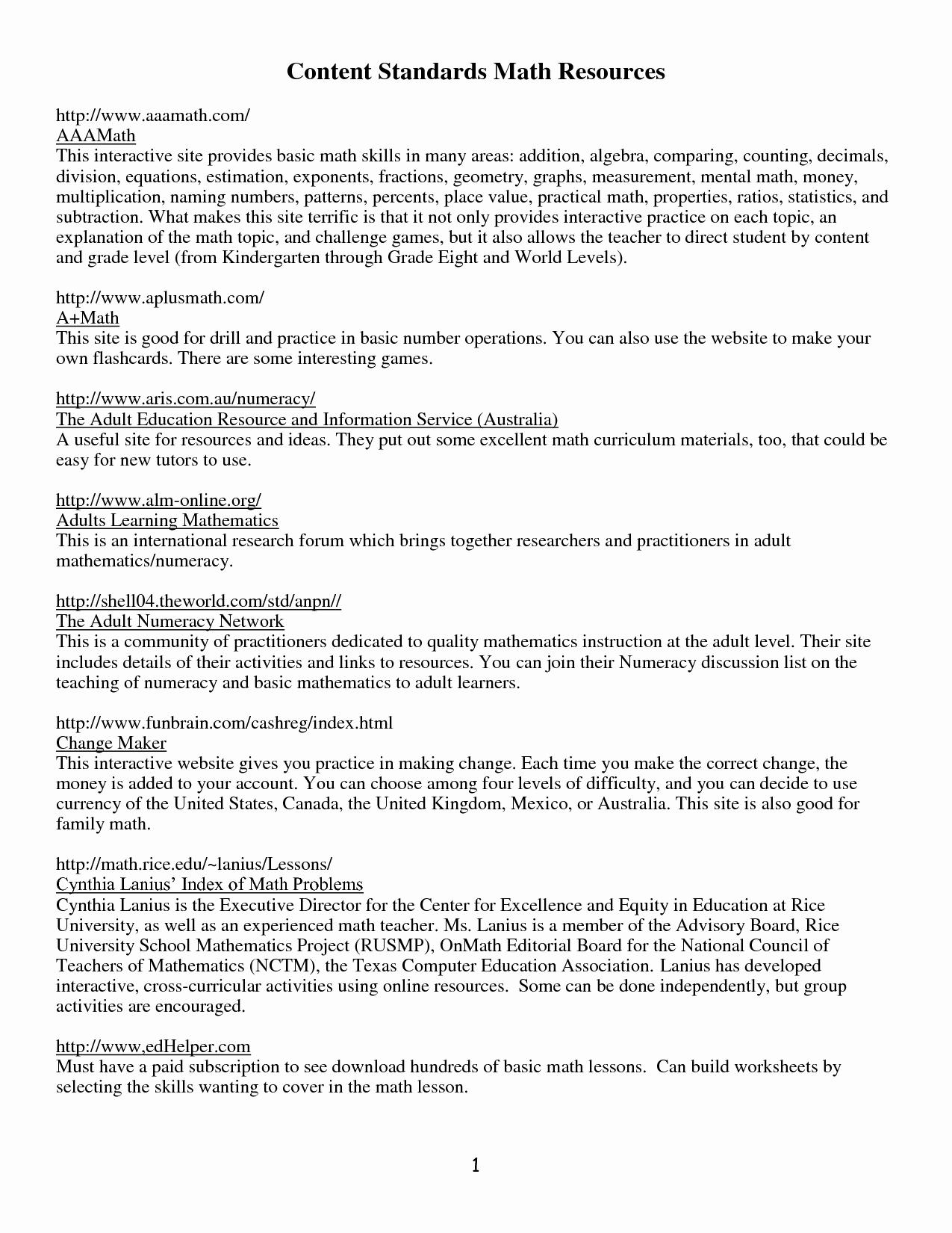 Printable Ged Practice Worksheets Language Arts - Happy Living - Free Printable Ged Worksheets