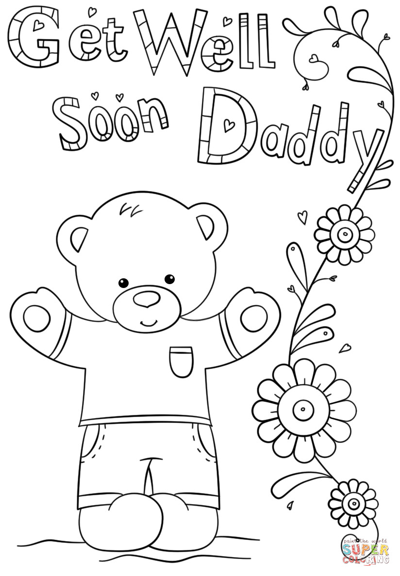 Printable Get Well Soon Coloring Pages 351126 Amazing Cards Showy - Free Printable Get Well Soon Cards