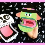 Printable Halloween Puppets   Halloween Crafts For Kids   Youtube   Halloween Crafts For Kids Free Printable
