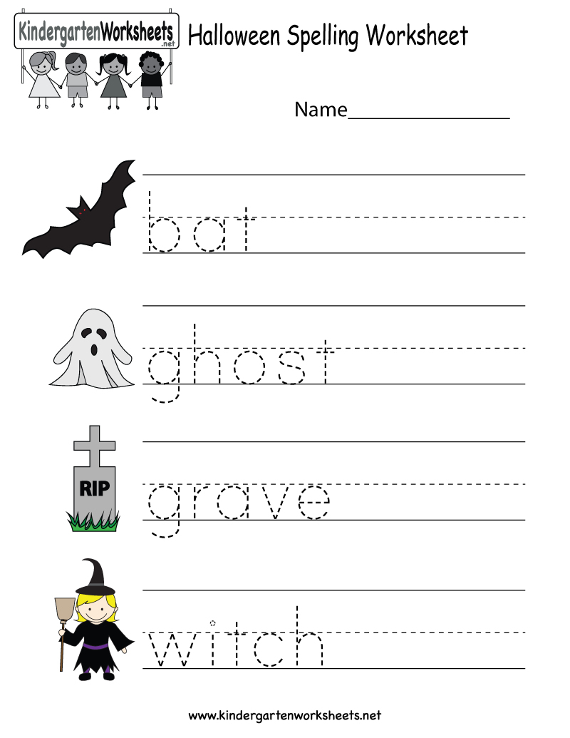 Printable Halloween Worksheets For Preschoolers | Halloween Arts - Free Printable Halloween Worksheets
