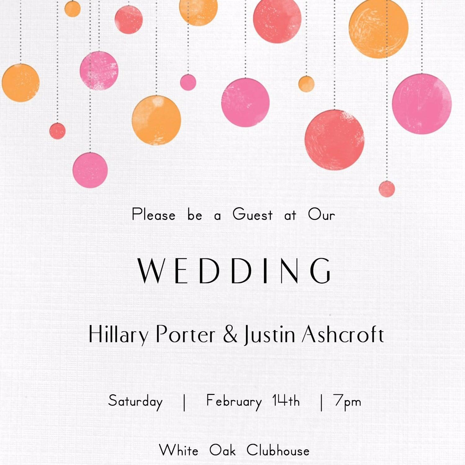 Printable Invitation Card - Rehau.hauteboxx.co - Wedding Invitation Cards Printable Free