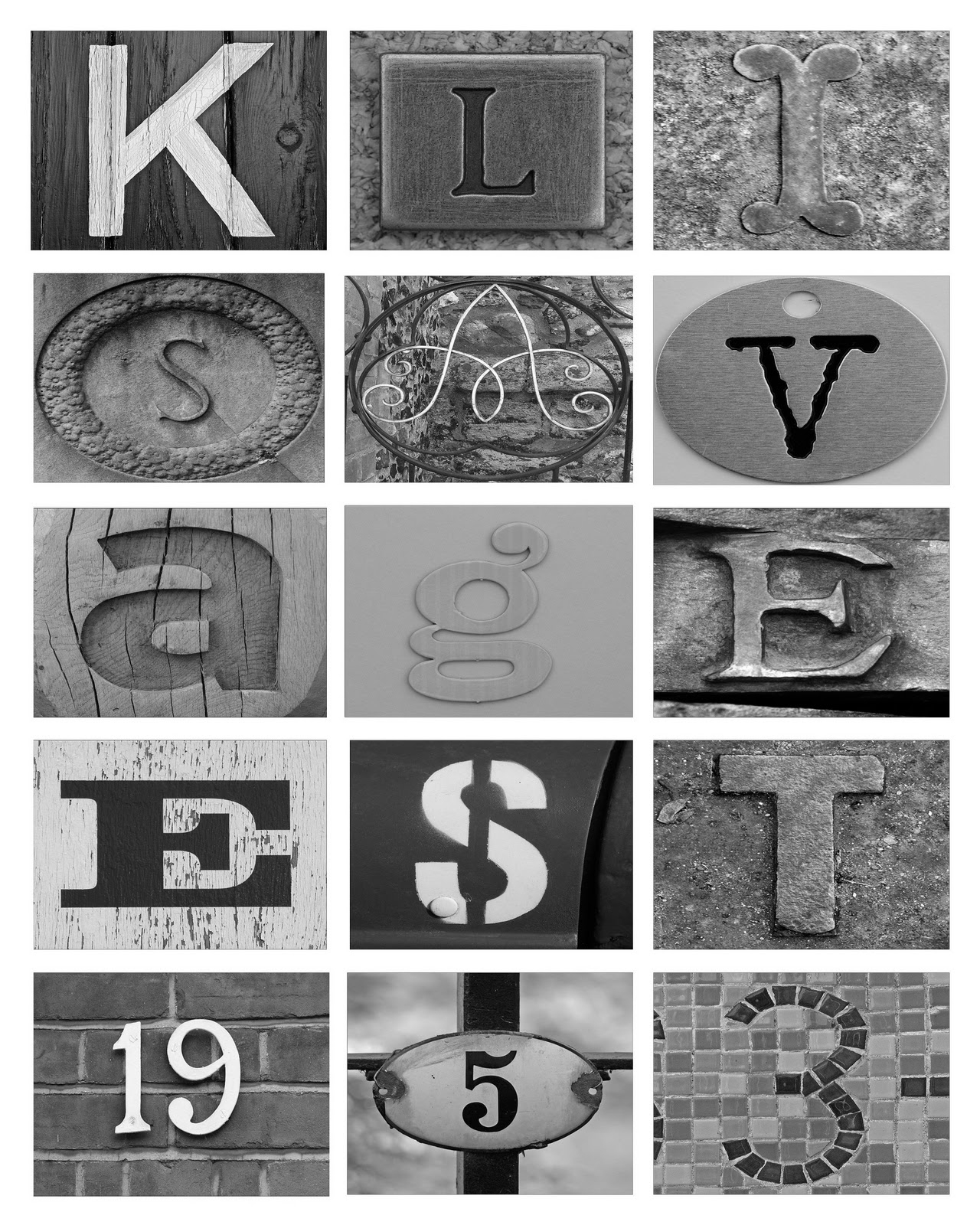 Printable Letter Art Free   Download Them Or Print - Free Printable Photo Letter Art