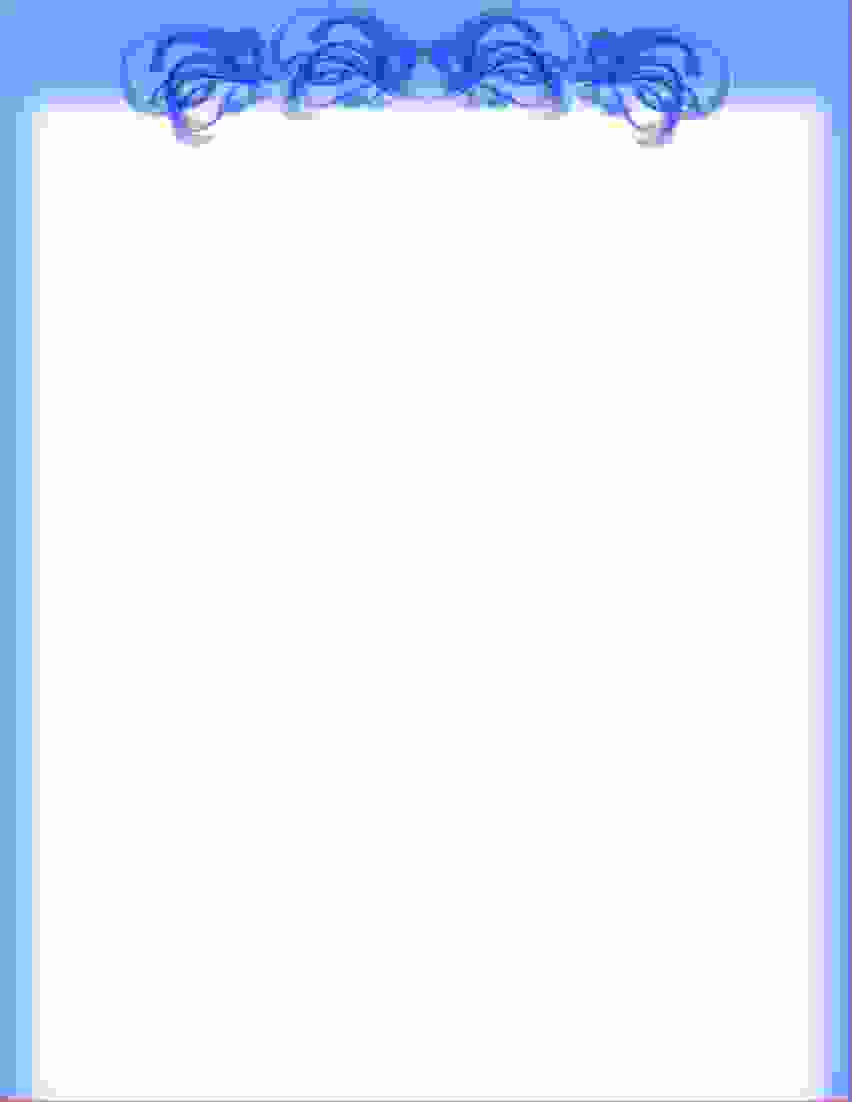 Printable Letterhead Borders 8 Free Printable Stationery Templates - Free Printable Letterhead Borders