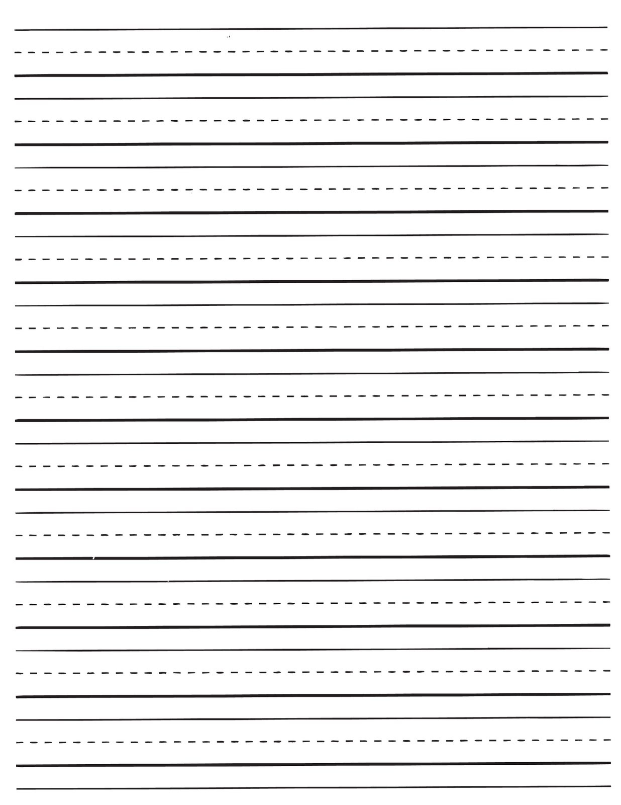Printable Lined Paper For Kids   World Of Label - Free Printable Lined Paper