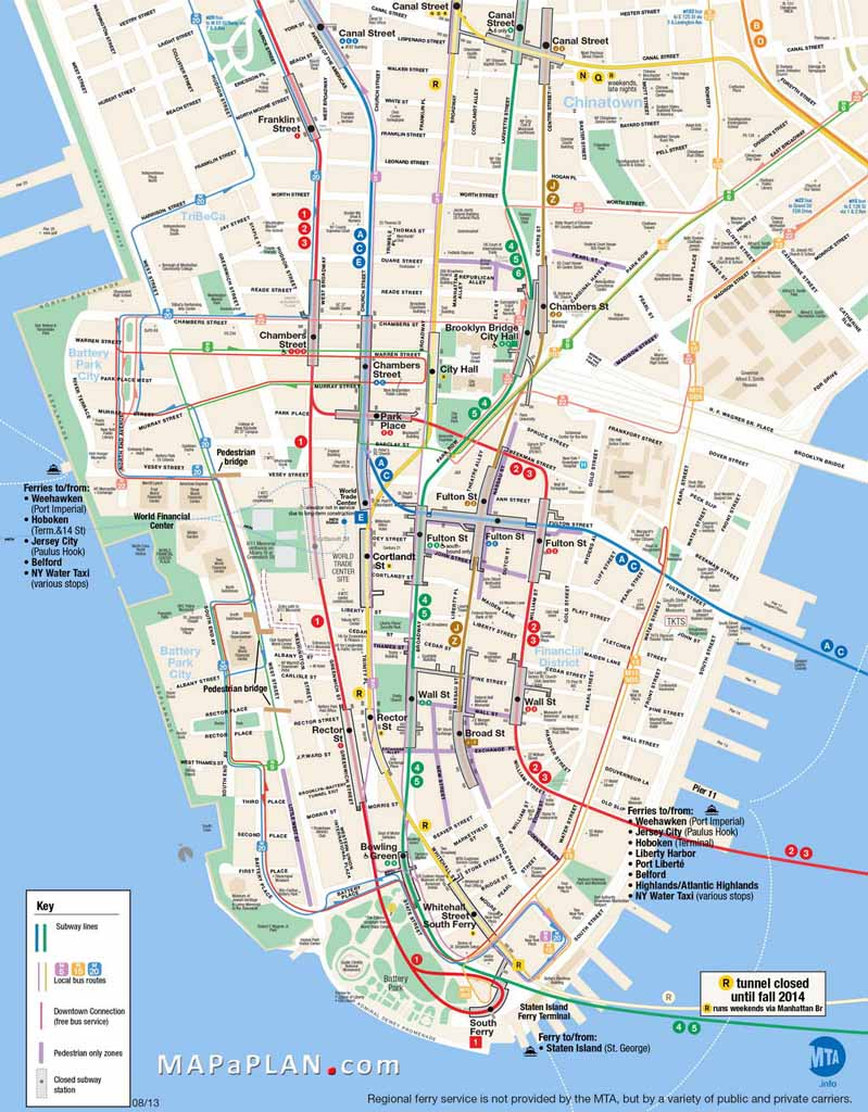 Printable Map Of Manhattan Ny | Travel Maps And Major Tourist - Free Printable Map Of Manhattan