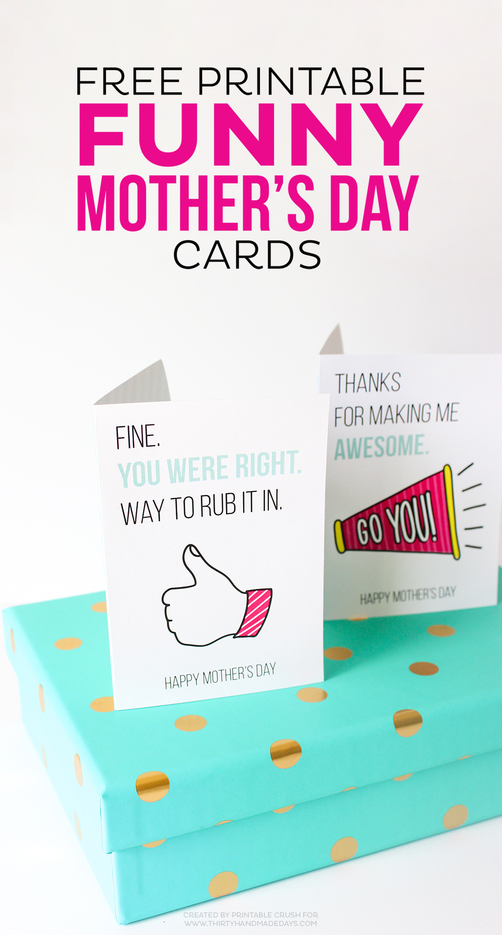 Printable Mother's Day Cards - Free Printable Mother's Day Games