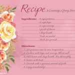 Printable Mother's Day Recipe Poems   Blue Mountain Blog   Free Printable Mothers Day Cards Blue Mountain