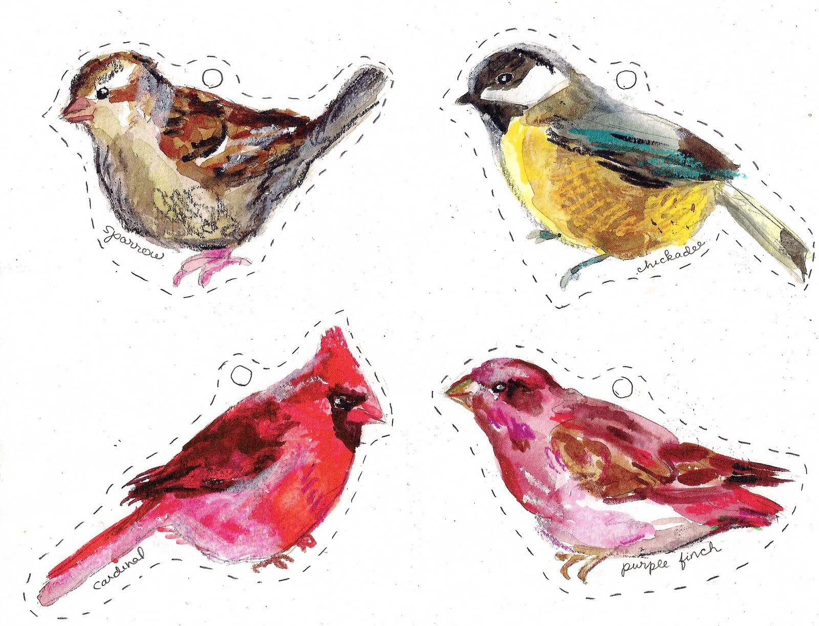 Printable Pics Of Birds With Winter Birds Free Printables Making It - Free Printable Images Of Birds