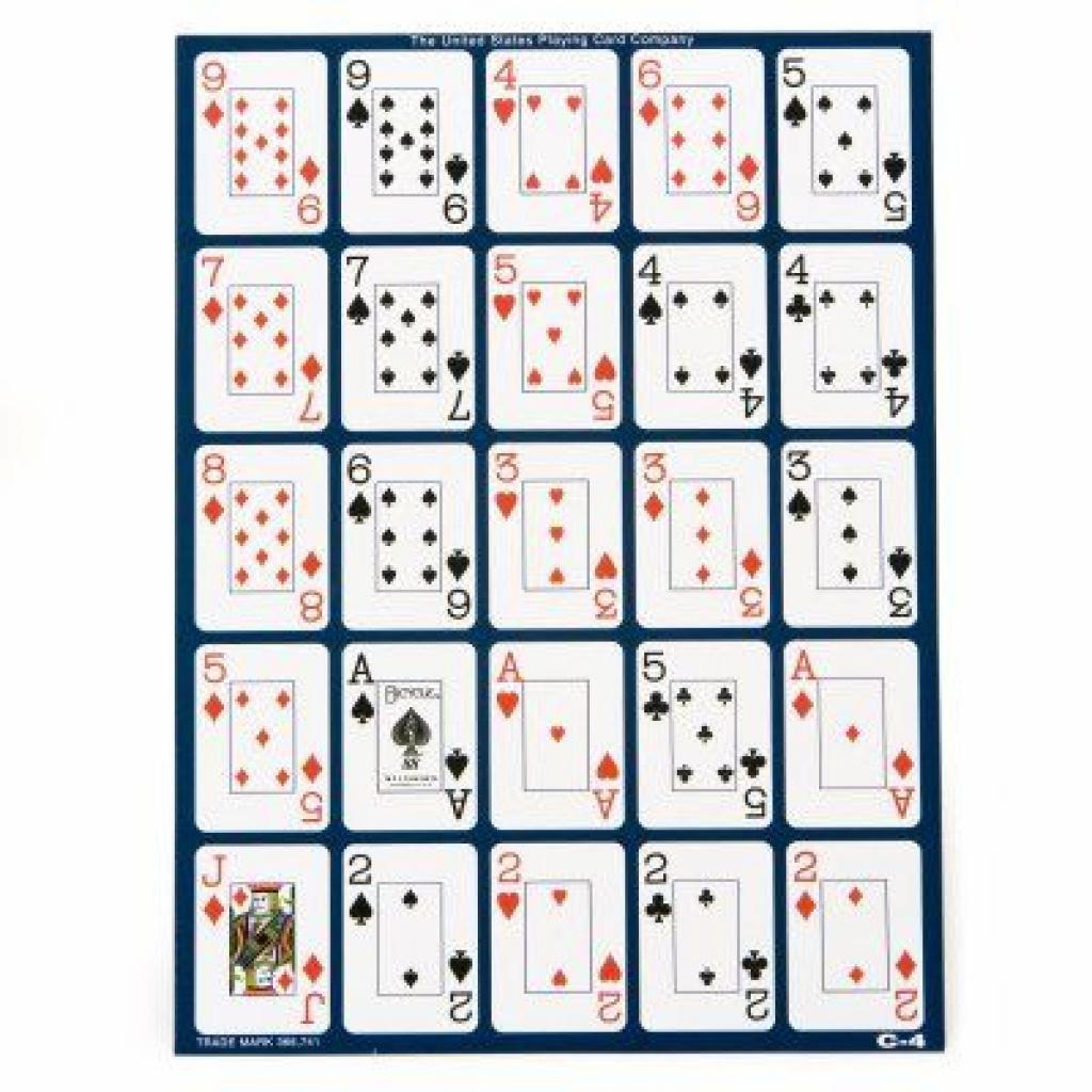Printable Pokeno Cards – Stud Design Pertaining To Free Printable - Free Printable Pokeno Game Cards