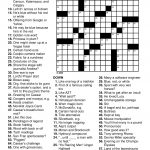 Printable Puzzles For Adults | Easy Word Puzzles Printable Festivals – Free Printable Sports Crossword Puzzles