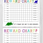 Printable Reward Chart   The Girl Creative   Free Printable Incentive Charts For School