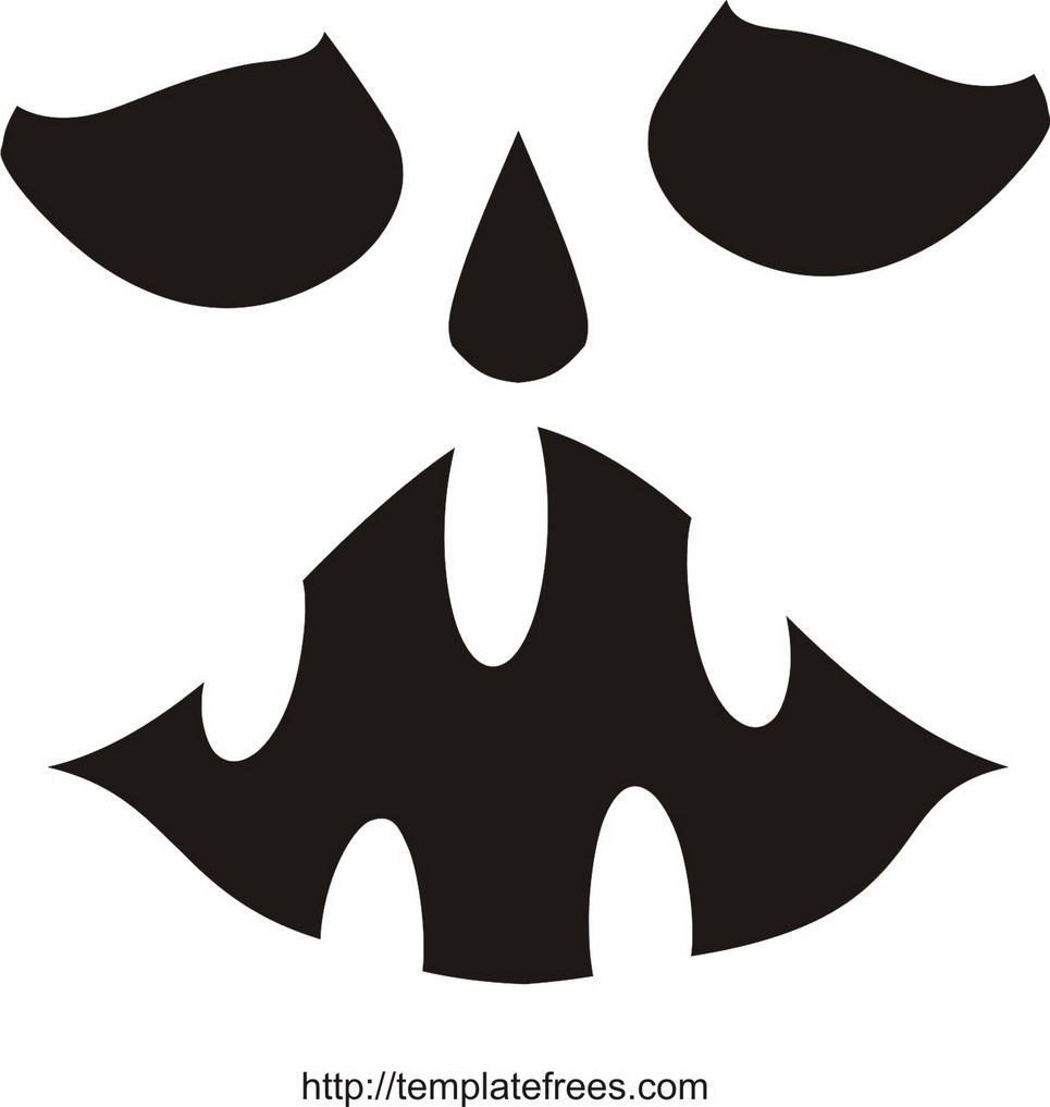 Printable Scary Pumpkin Carving Stencils | Free Printable Pumpkin - Pumpkin Templates Free Printable