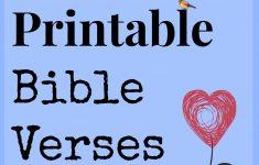 Free Printable Scripture Verses
