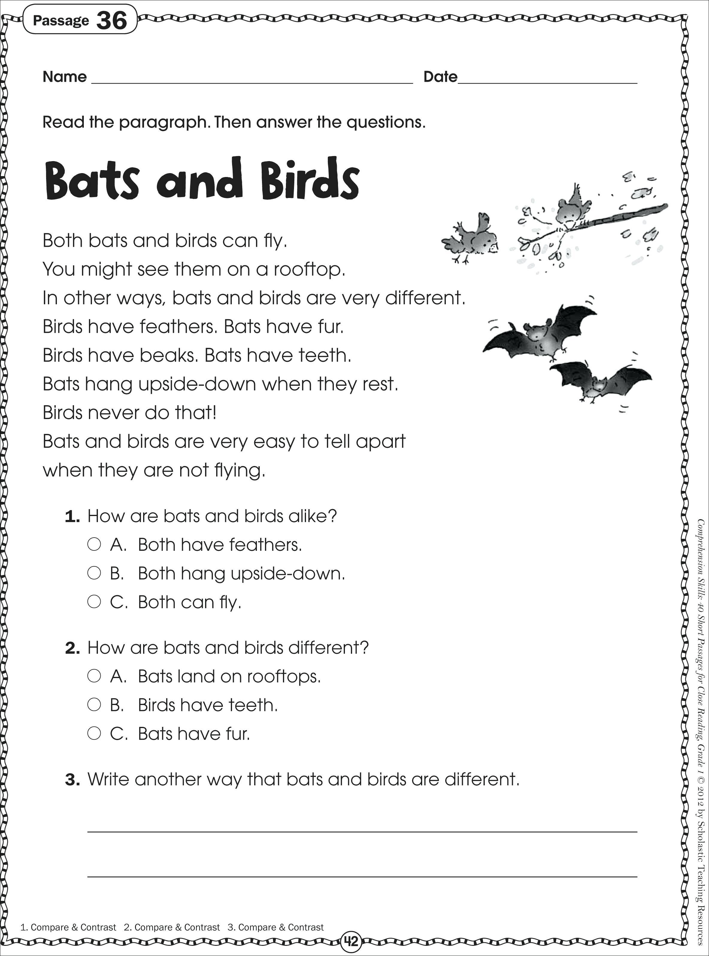 Printable Short Stories For 3Rd Grade Full Size Of Reading - Free Printable Short Stories For Grade 3