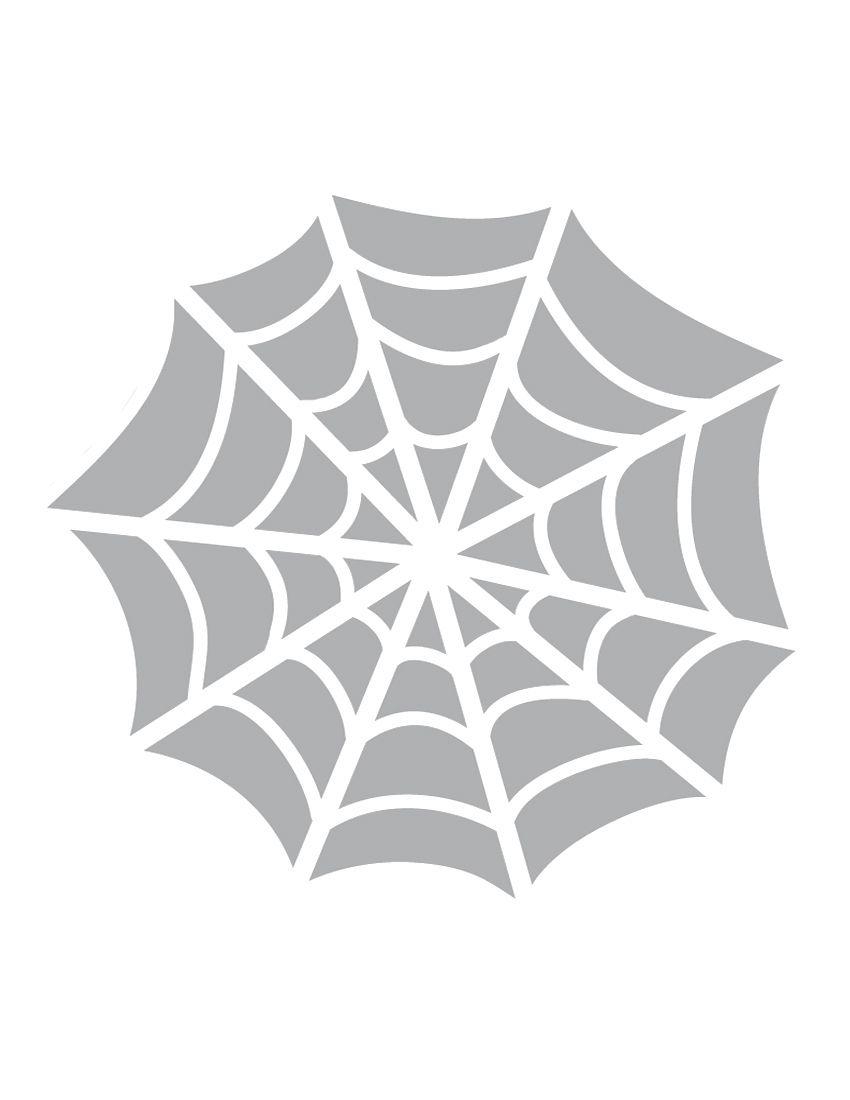 Printable Spider Web Stencil - Coolest Free Printables. This Stencil - Free Printable Spider Web