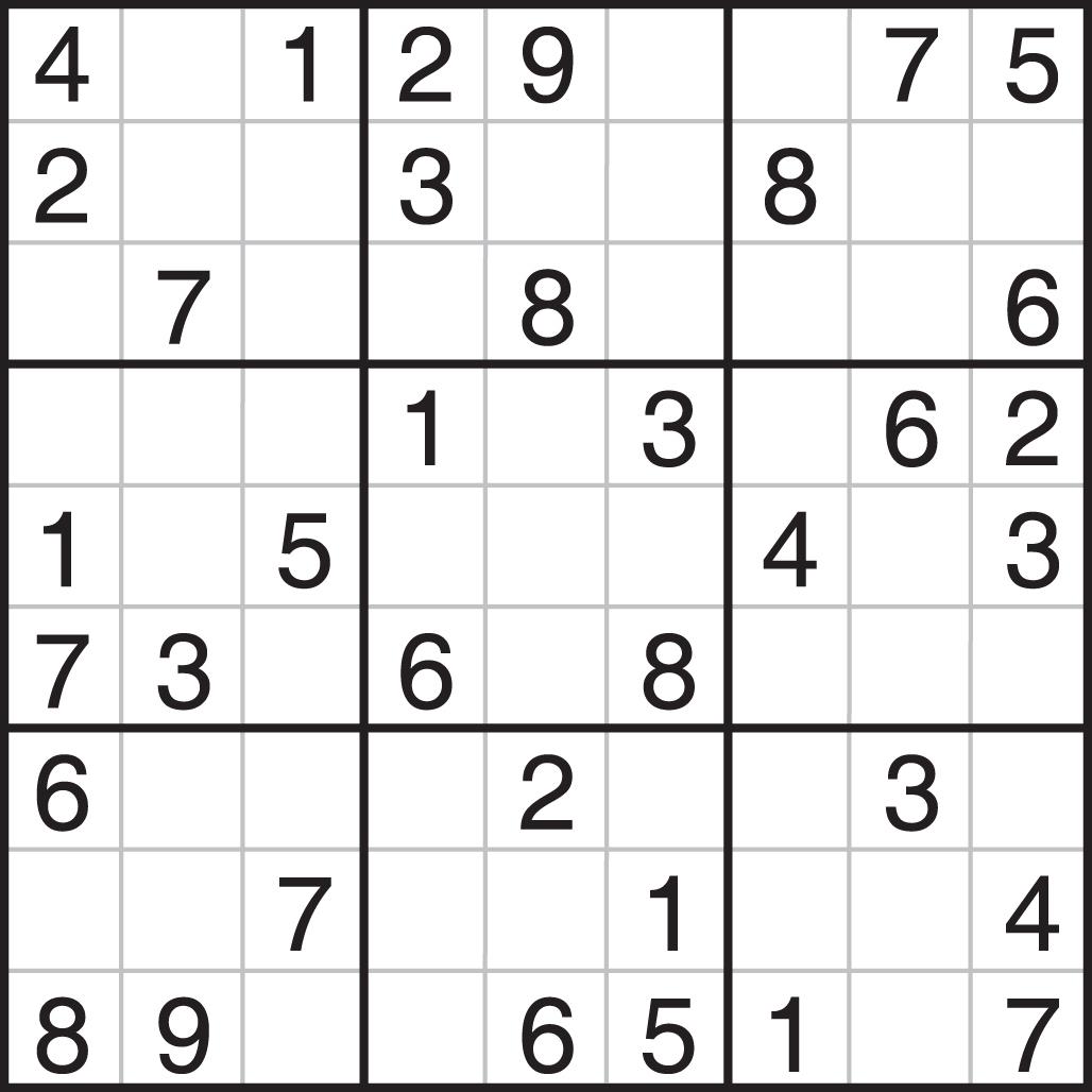 Printable Sudoku 25X25 Numbers - 8.5.kaartenstemp.nl • - Free Printable Super Challenger Sudoku