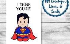 Free Printable Superman Valentine Cards