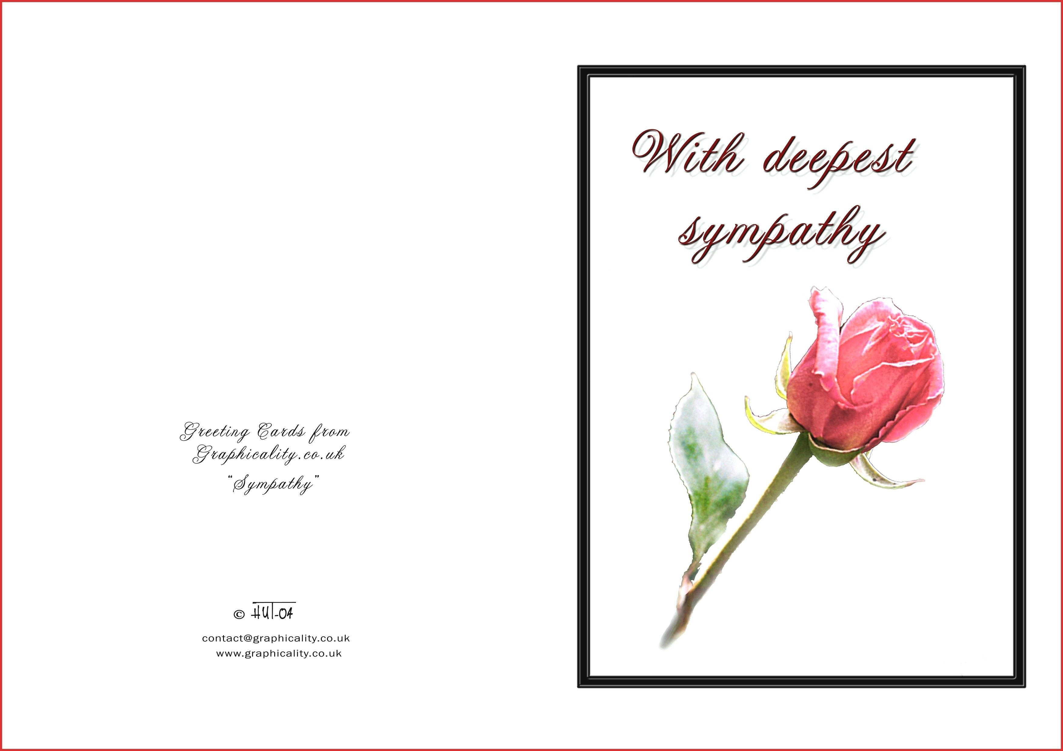Printable Sympathy Cards - Hashtag Bg - Free Printable Sympathy Cards For Dogs