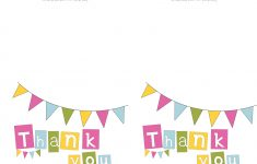 Thank You Card Free Printable Template