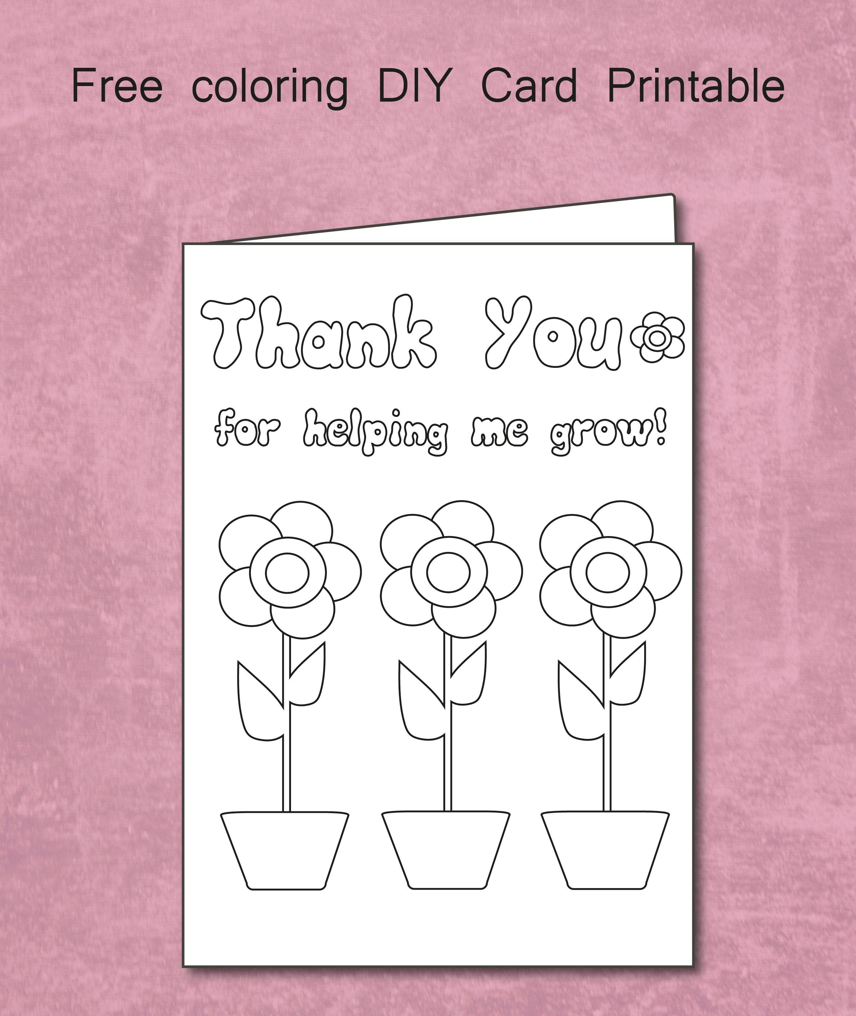 Printable Thank You Cards Teacher   Bestprintable231118 - Free Printable Thank You Cards For Teachers