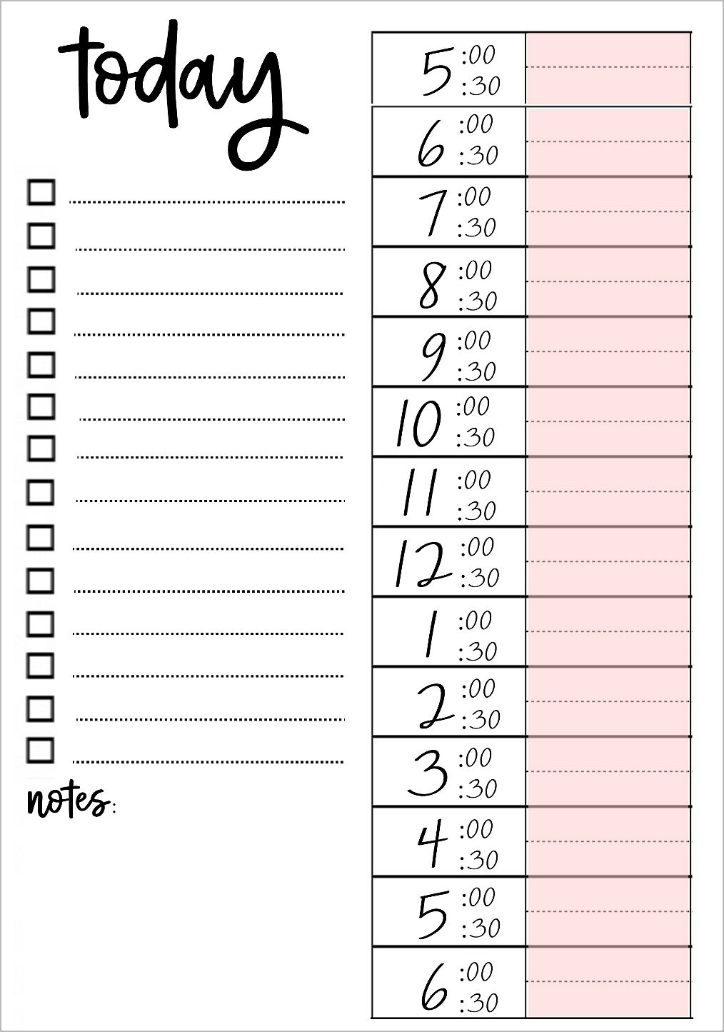 Printable To Do Lists That Work | Free Printables | Printables, To - Free Printable To Do Lists To Get Organized