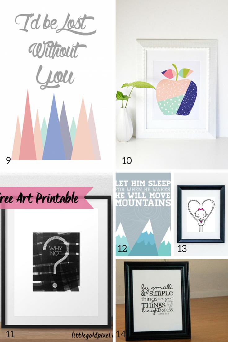 Printable Wall Art - Ecosia - Free Printable Art Pictures