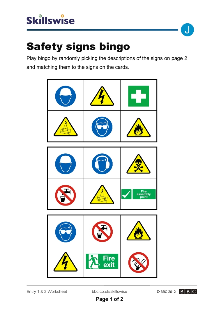 Printable Warning Signs Uk | Download Them Or Print - Free Printable Health And Safety Signs