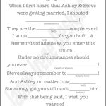 Printable Wedding Mad Lib A Fun Guest Bookweddingsbyjamie   Free Printable Wedding Mad Libs