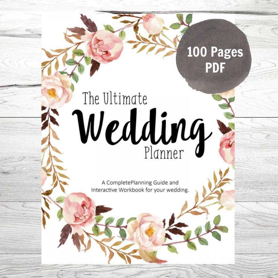 Printable Wedding Planner Pdf   Ellipsis - Free Printable Wedding Planner Pdf