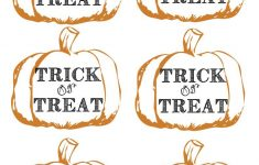 Free Printable Trick Or Treat Bags