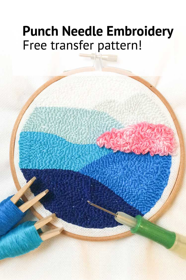 Punch Needle Patterns Free Printable | Www.topsimages - Free Printable Punch Needle Patterns
