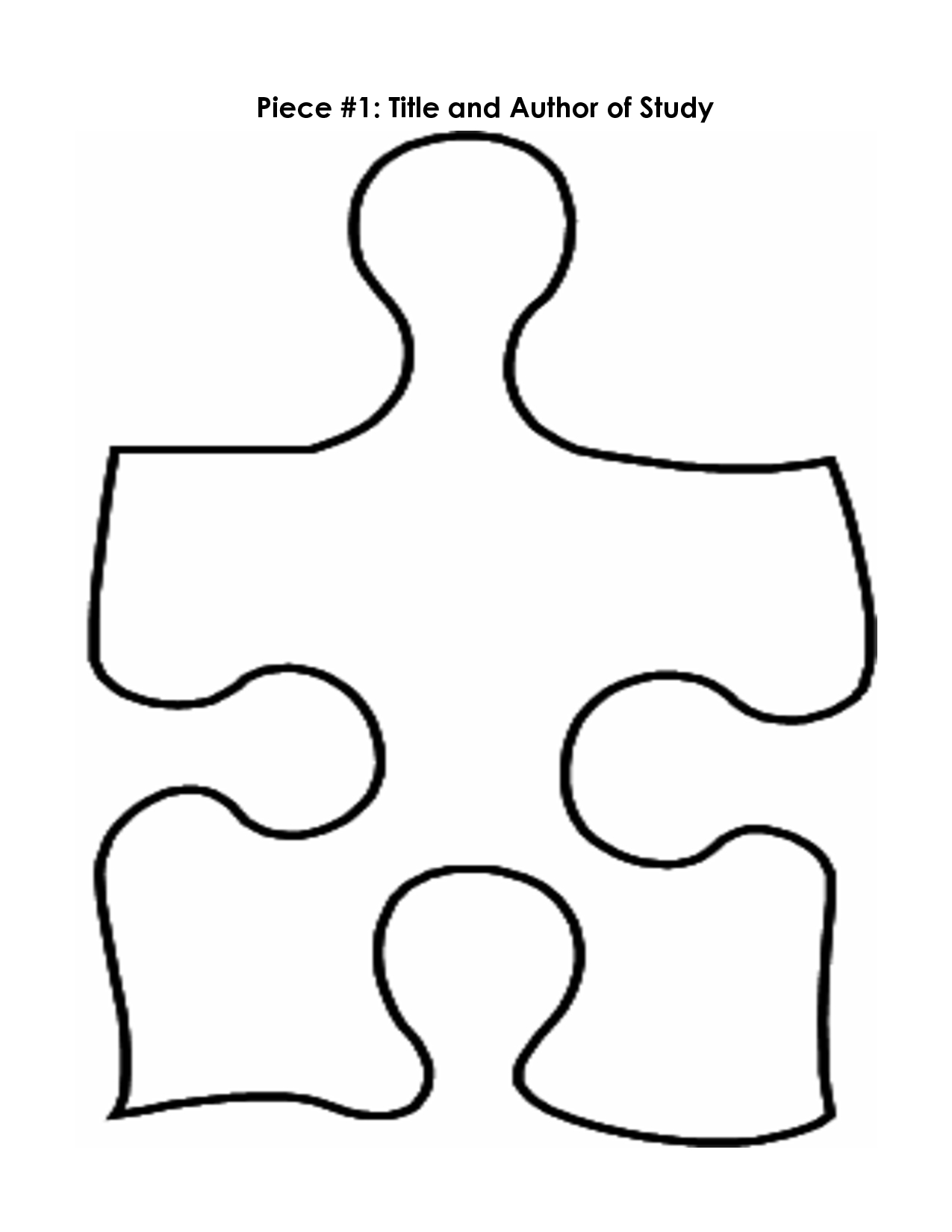 Puzzle Piece Mystery Book Template Pp | Printables | Pinterest - Free Blank Printable Puzzle Pieces
