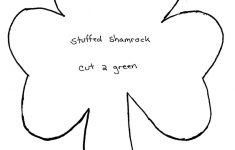Shamrock Template Free Printable