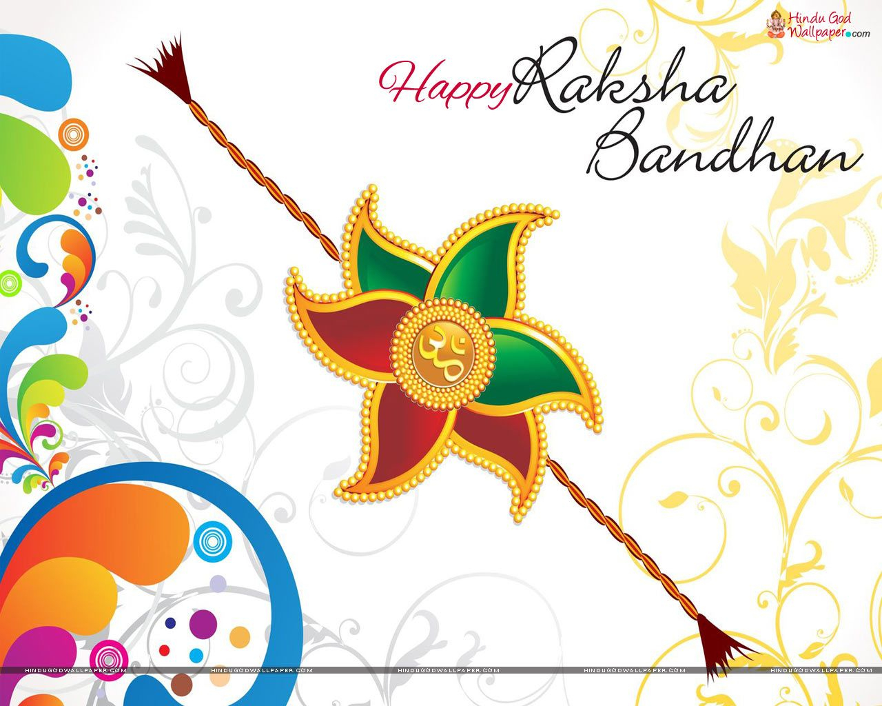 Raksha Bandhan | Happy Raksha Bandhan Wallpapers - Rakhi Wallpapers - Free Online Printable Rakhi Cards