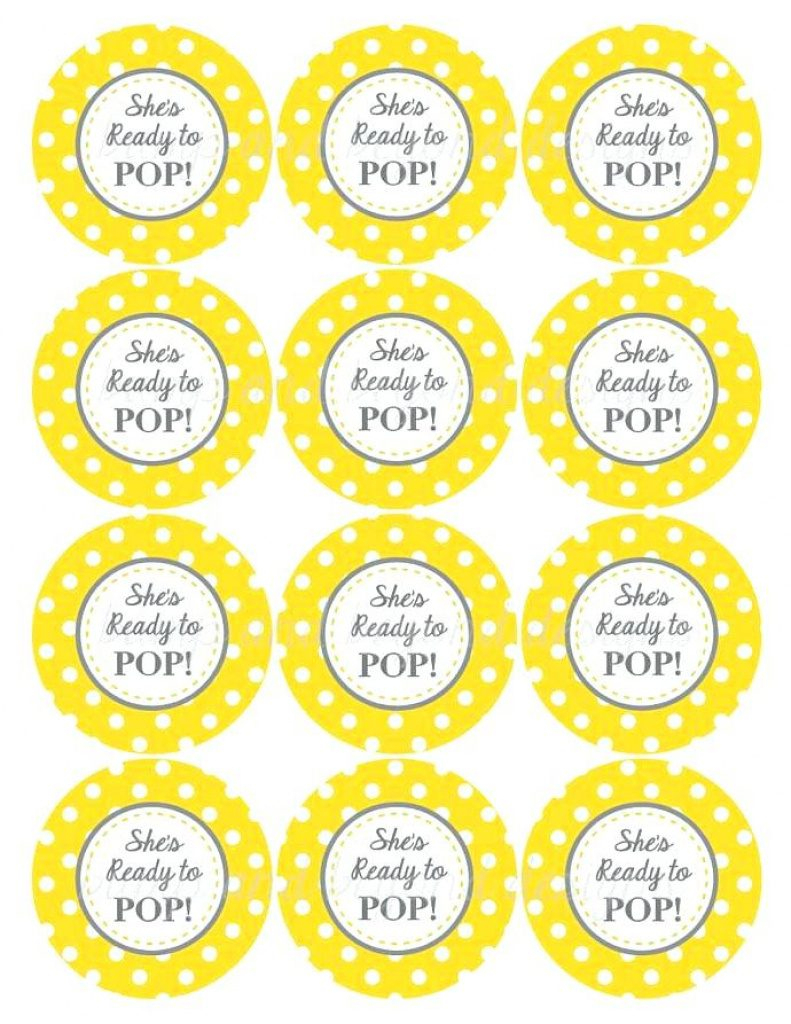 Ready To Pop Baby Shower Invitation Printables Free Creative Co In - Ready To Pop Free Printable