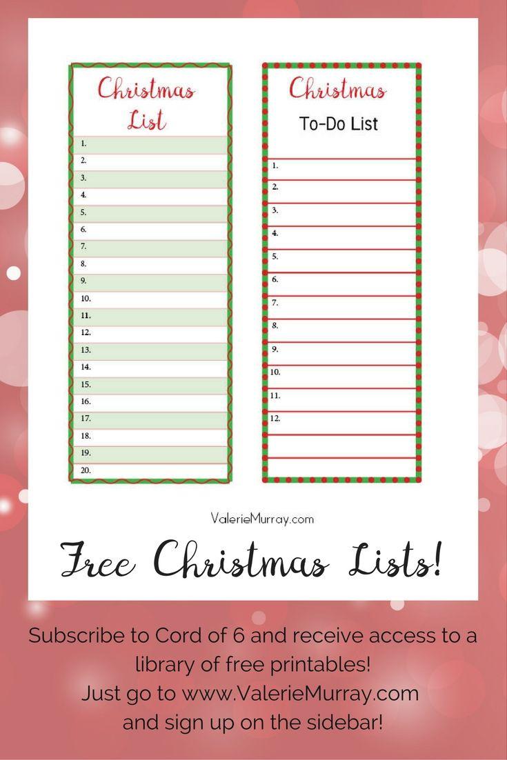 Reindeer And Sparrows: A Christmas Story   Christmas   Pinterest - Free Printable Christmas List Maker