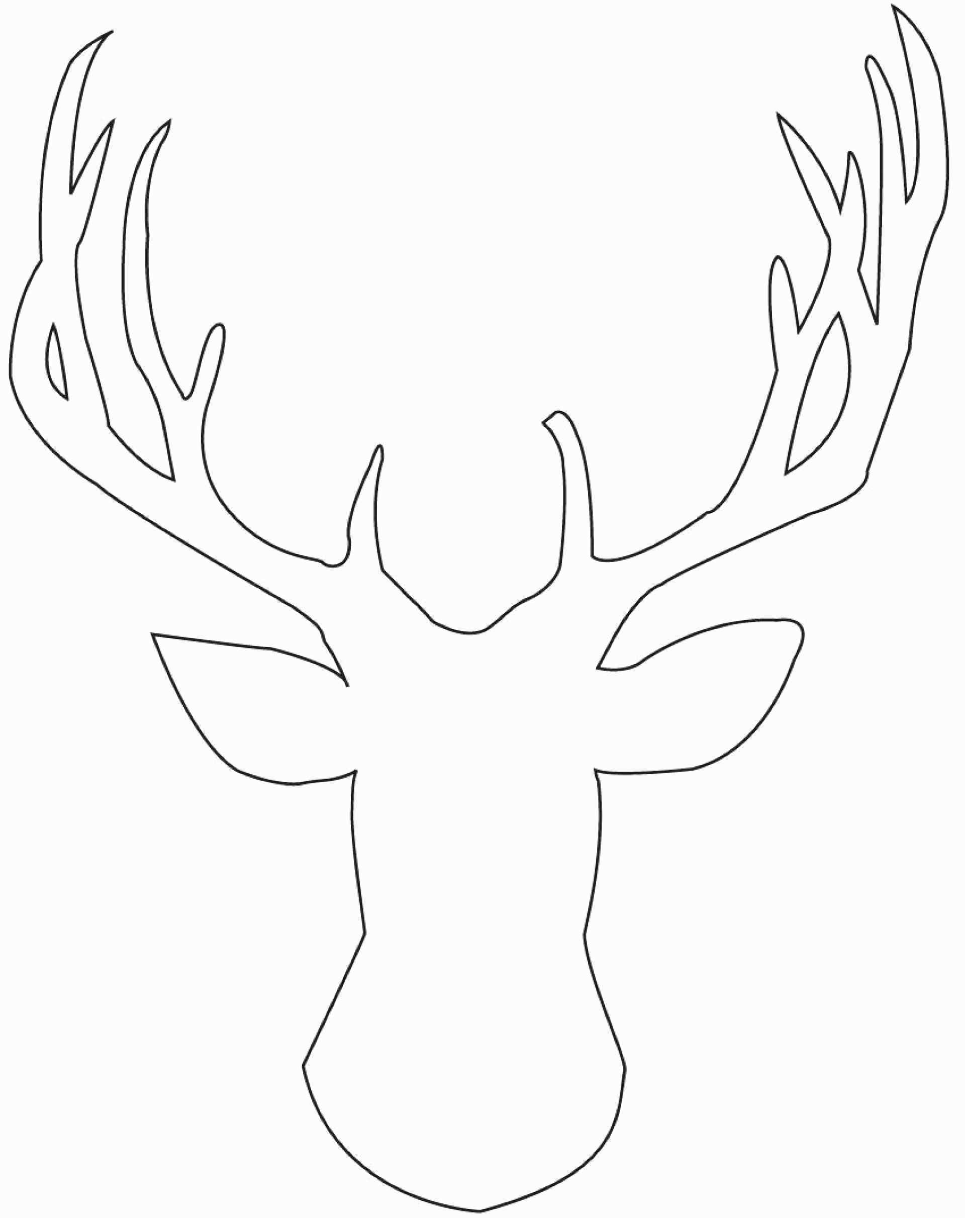 Reindeer Antlers Template Luxury Printable Arrowhead Template - Reindeer Antlers Template Free Printable