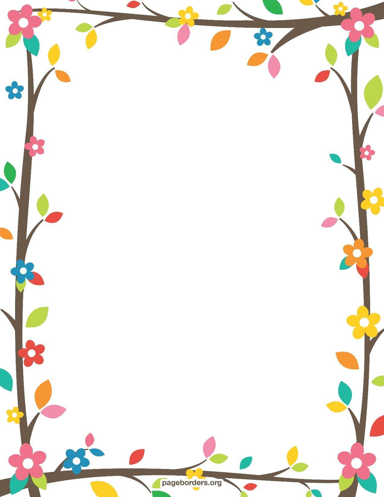 Resultado De Imagen Para Free Printable Border Designs For Paper - Free Printable Summer Borders