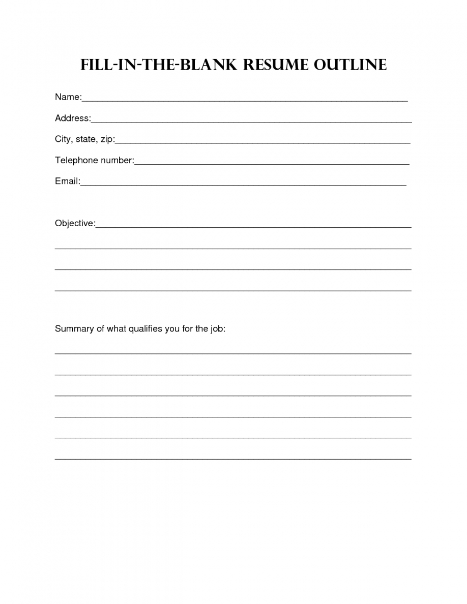 Resume Design. Blank Resume Template Sample Blank Resume Templates - Free Printable Professional Resume Templates