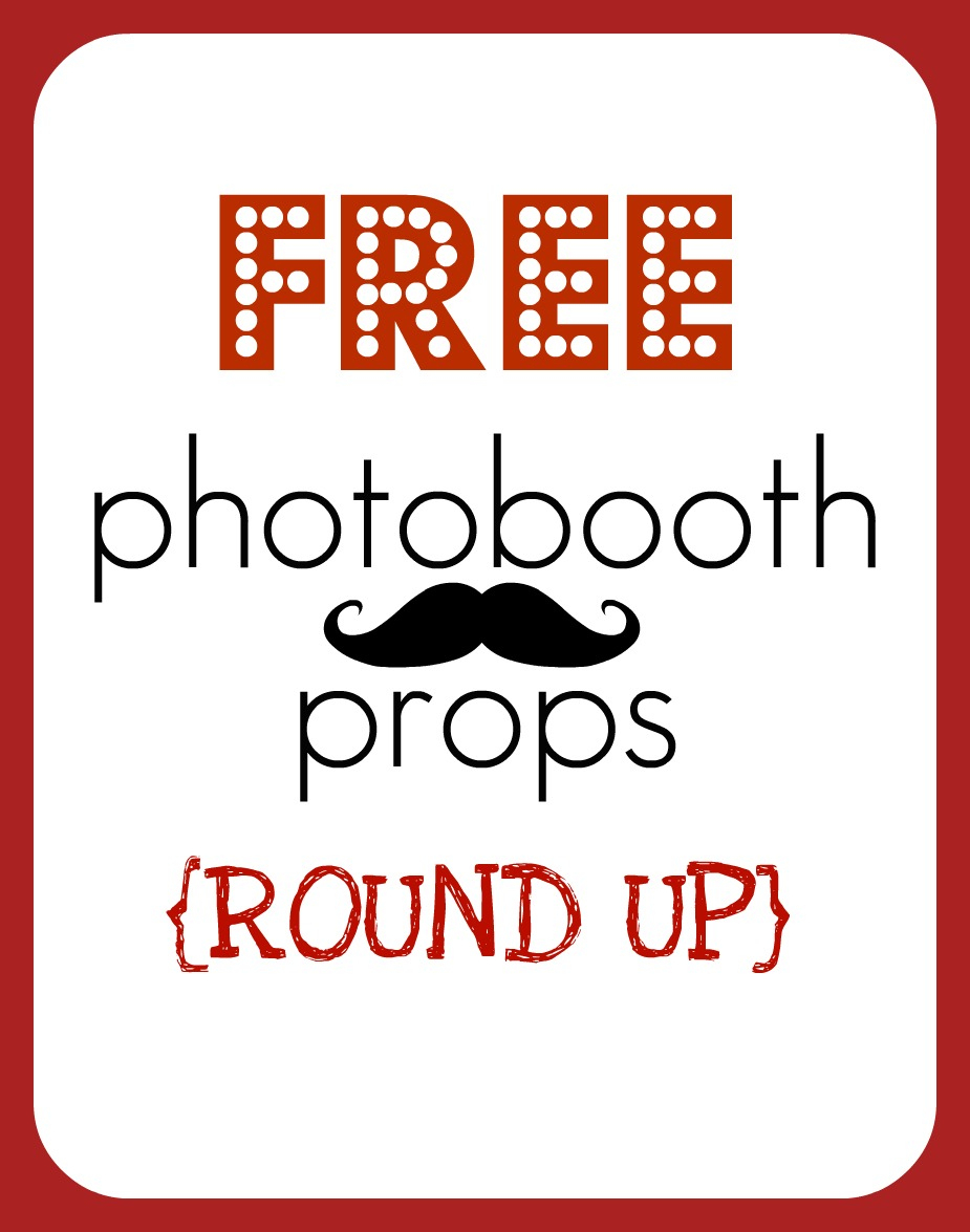 Round Up} Free Printable Photobooth Props - Creative Juice - Free Printable Thanksgiving Photo Props