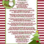 Santa And Christ …poem And A Christmas Tradition | Christmas Ideas   Free Printable Christian Christmas Poems