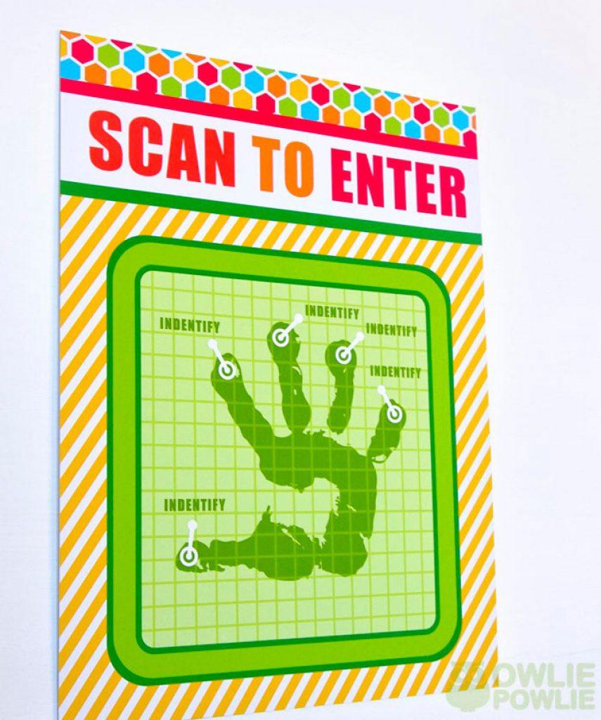 Scan To Enter Sign Printable Free | Free Printable - Scan To Enter Sign Printable Free